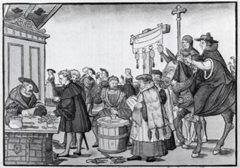 宗教改革 宗教改革 宗教改革 贖宥状の販売 ルターの贖宥状(しょくゆうじょう)批判がきっかけとな